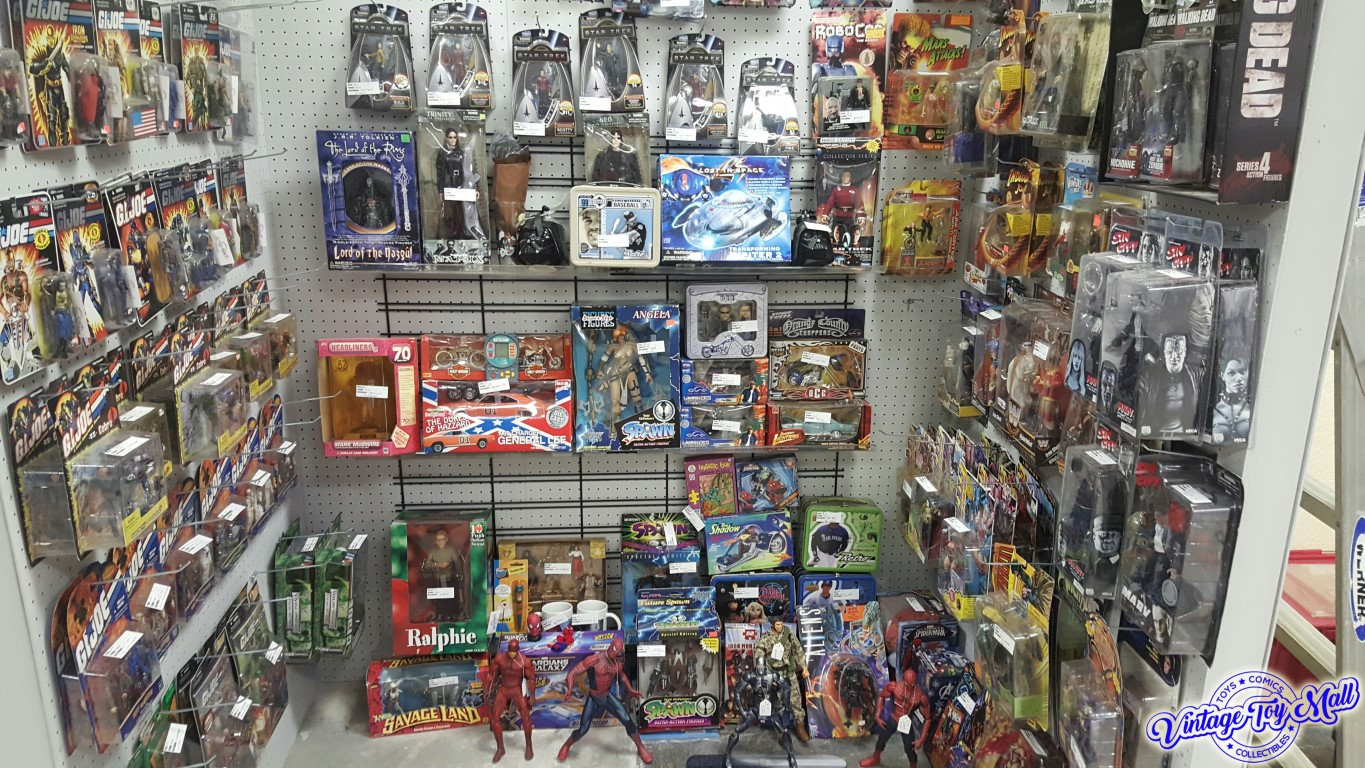 Vintage Toy Mall is nearly 3,000 square feet of nostalgia overload located  at 81st & Elm Place in Broken Arrow, OK. Come see Tulsa areas largest  vintage ...