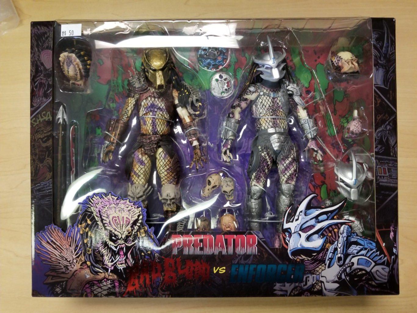 NECA Predator Bad Blood vs Enforcer 2-pack
