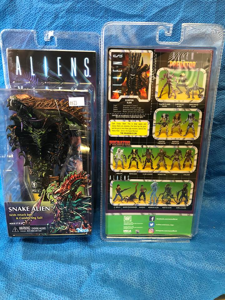 Neca Aliens Snake Alien