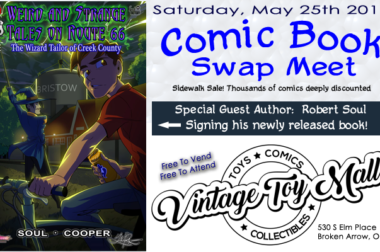 May 25th, 2019 – Comic Book Swap Meet & Robert Soul Book Signing